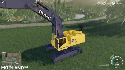 FS19 DEERE EXCAVATOR 870G v 1.6, 5 photo