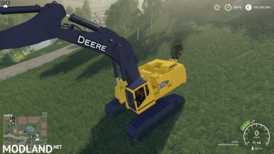 FS19 DEERE EXCAVATOR 870G v 1.6, 6 photo