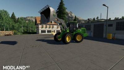 John Deere 524K Wheel Loader & Shovel v 1.0
