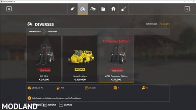 Manitou MC18 Container Edition v 1.1.1, 2 photo