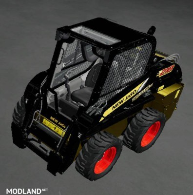 New JaSo skid steer loader with color choice v1.0, 2 photo