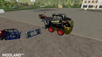 New JaSo skid steer loader with color choice v1.0, 4 photo
