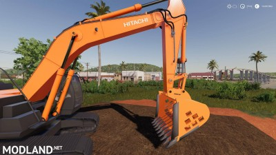 Screen Bucket For Hitachi Excavators v 0.6, 2 photo