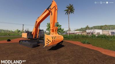 Screen Bucket For Hitachi Excavators v 0.6, 1 photo