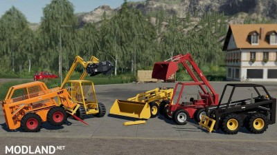 Skid Steer Loader 711 Pack v 1.0, 1 photo