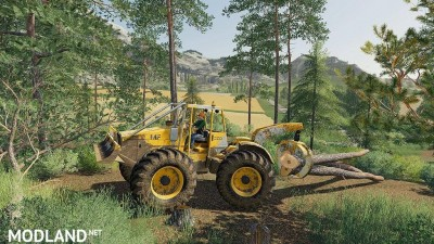 Skidder MF320 v 1.0, 2 photo
