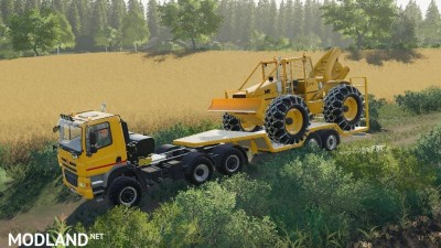 Skidder MF320 v 1.0, 3 photo