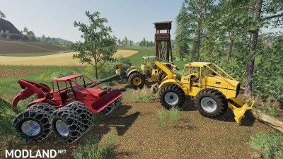 Skidder MF320 v 1.0, 1 photo