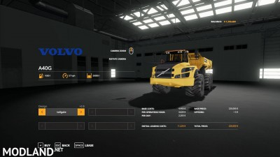 Volvo A40 v 1.0 - Direct Download image
