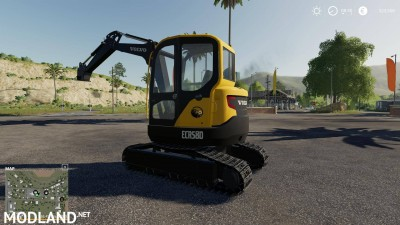 Volvo mini excavator v 1.0, 2 photo