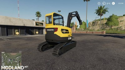 Volvo mini excavator v 1.0, 3 photo