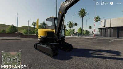 Volvo mini excavator v 1.0, 4 photo