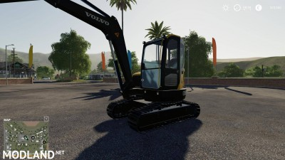 Volvo mini excavator v 1.0, 1 photo