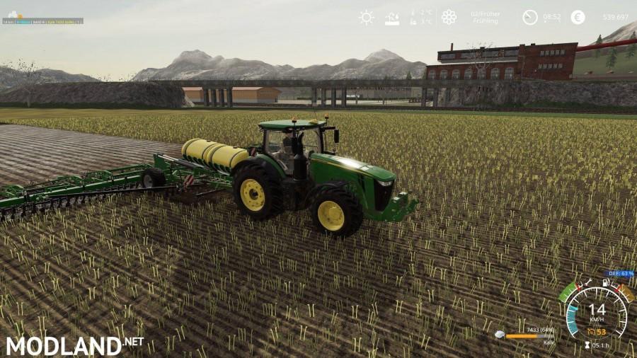 John Deere Bodenbearbeitung