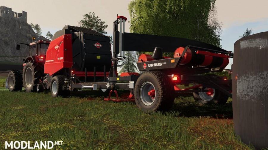 Kuhn VB 2190 With Attacher To Ursus Z586