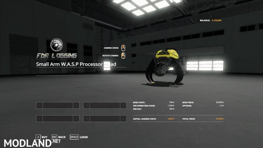 Small Arm W.A.S.P Processor Head