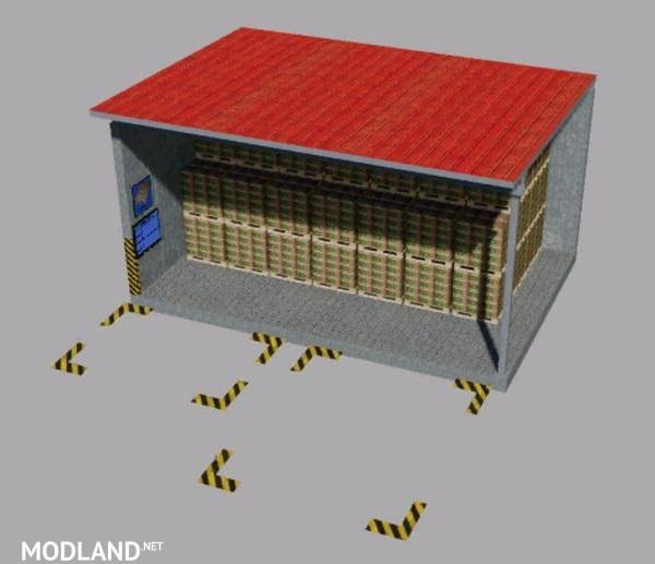 Warehouse for pallets Multimap2019