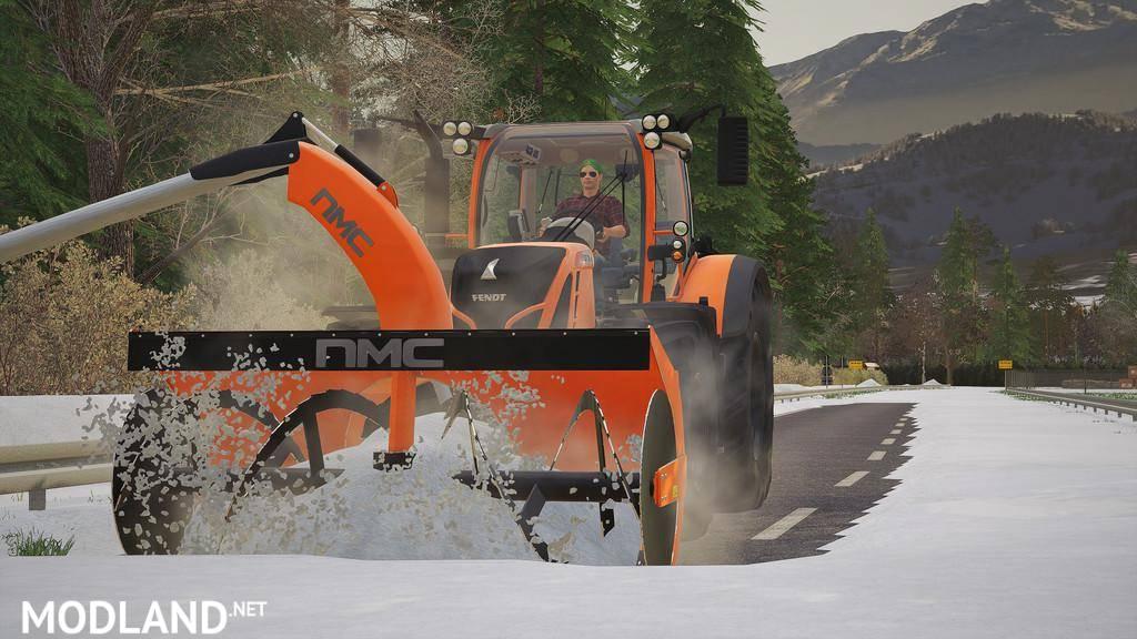 NMC 320H Pro Snow Blower V 1.0