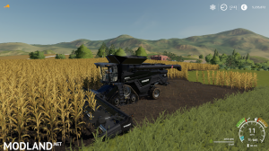 AGCO IDEAL9 Forage Harvester + Cutter v1.0, 6 photo