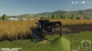 AGCO IDEAL9 Forage Harvester + Cutter v1.0, 1 photo