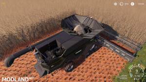AGCO IDEAL9 Forage Harvester + Cutter v1.0, 11 photo