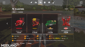 CRAZY +100m KUHN 3R12 Multifruit DirectSeeder v1.2, 2 photo