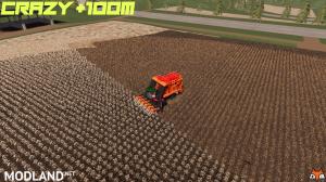 Crazy +100m CASEIH Module Express 635 Cotton Harvester