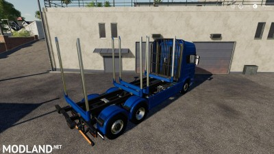 Adjustable hooklift Wood Container v 1.0, 6 photo