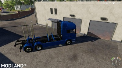 Adjustable hooklift Wood Container v 1.0, 7 photo