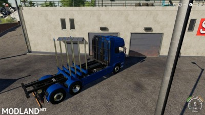 Adjustable hooklift Wood Container v 1.0, 8 photo