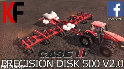 Case IH Precision Disk 500T v 2.0, 1 photo