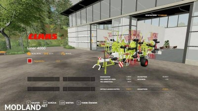 Claas Liner 4000 v 1.1, 6 photo