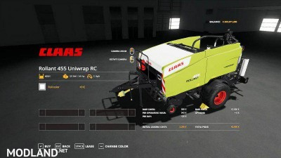 Claas Rollant 455 Uniwrap RC v 1.0, 3 photo
