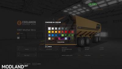 Coolamon chaser bins pack v 1.0, 8 photo
