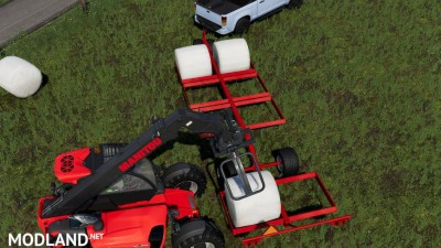 DMI MetalworX Bale Trailer v 1.0, 2 photo