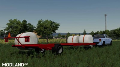 DMI MetalworX Bale Trailer v 1.0, 3 photo