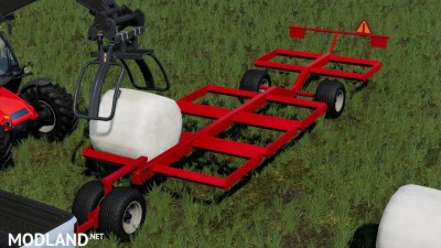 DMI MetalworX Bale Trailer v 1.0, 1 photo