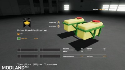 Dubex fertilizer tank beta, 4 photo