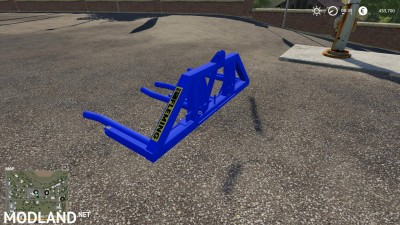 Eire Agri Fleming Bale Lifters v 1.0, 4 photo
