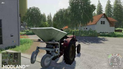 Fertilizer spreader D028/4 v 4.0, 2 photo