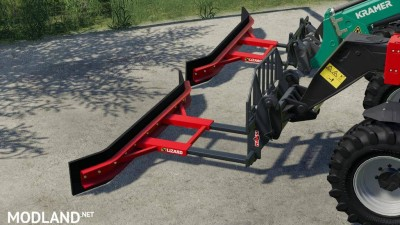 Fork Mount Rubber Scraper Pack v 1.0, 2 photo