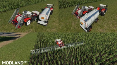 HS 8 Sprayers Support v 1.0