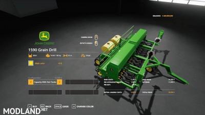John Deere 1590 Grain Drill v 1.0, 3 photo