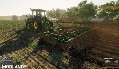 John Deere 1600 chisel plow v 1.0