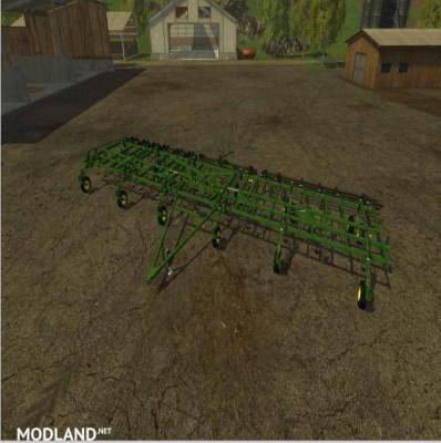 John Deere 3 Section Cultivator v 1.0, 1 photo