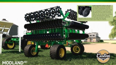 John Deere high speed disk v 1.0, 2 photo