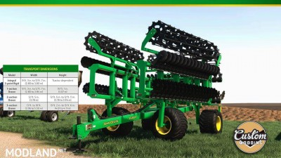John Deere high speed disk v 1.0, 1 photo