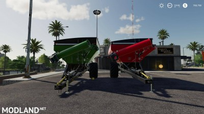 Kinze 851&1051 grain cart colorable v 1.0, 2 photo