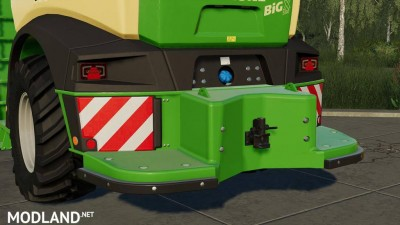 Krone Rear Weight v 1.0
