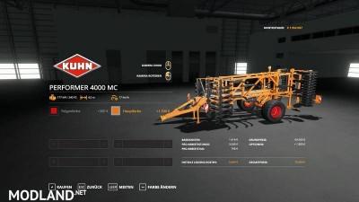 Kuhn Performer 4000 - MultiColor v 1.0